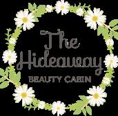 The Hideaway Beauty Cabin logo